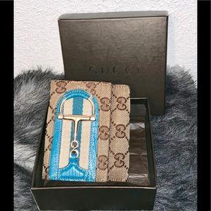 🔥SALE Authentic Gucci Horsebit Sherry line Wallet